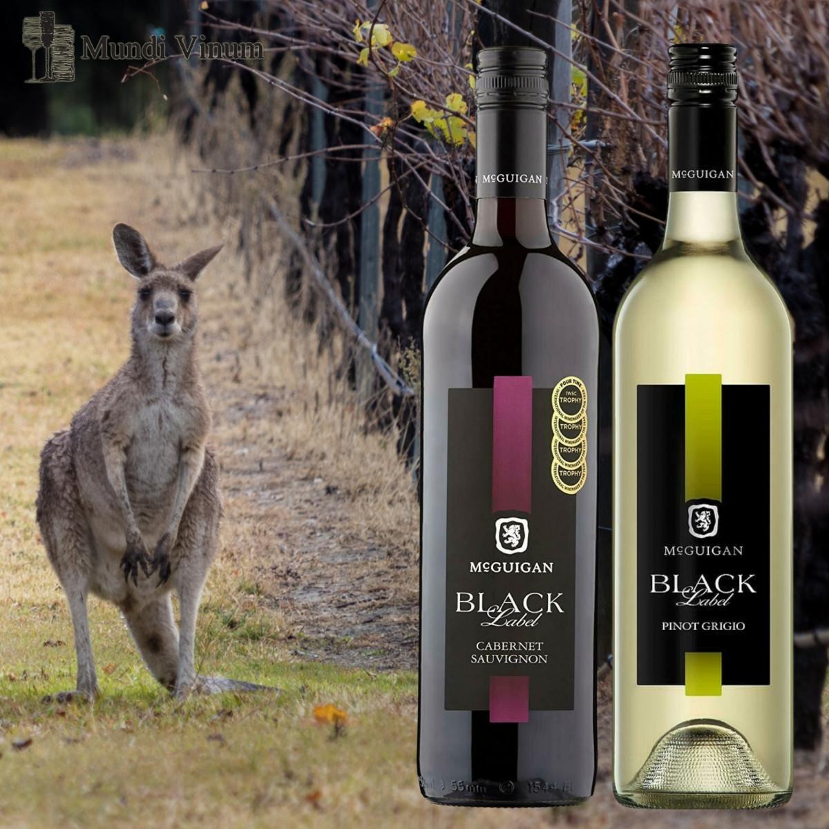 Mc Guigan Black  Australische wijn
