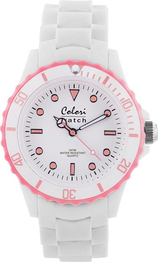 Colori horloge white summer