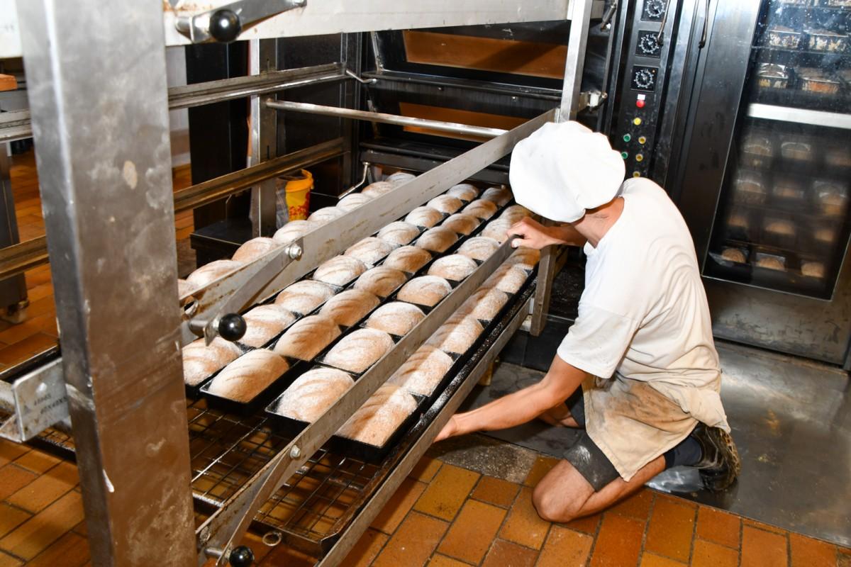 Dagelijks vers gebakken brood