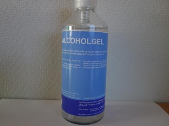 Alcoholgel vloeibaar 500 ML