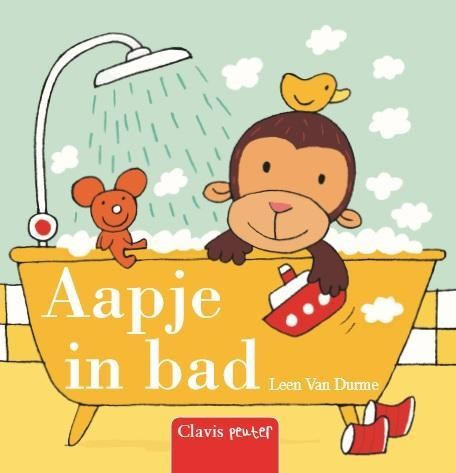 Clavis voorleesboek Aapje in bad
