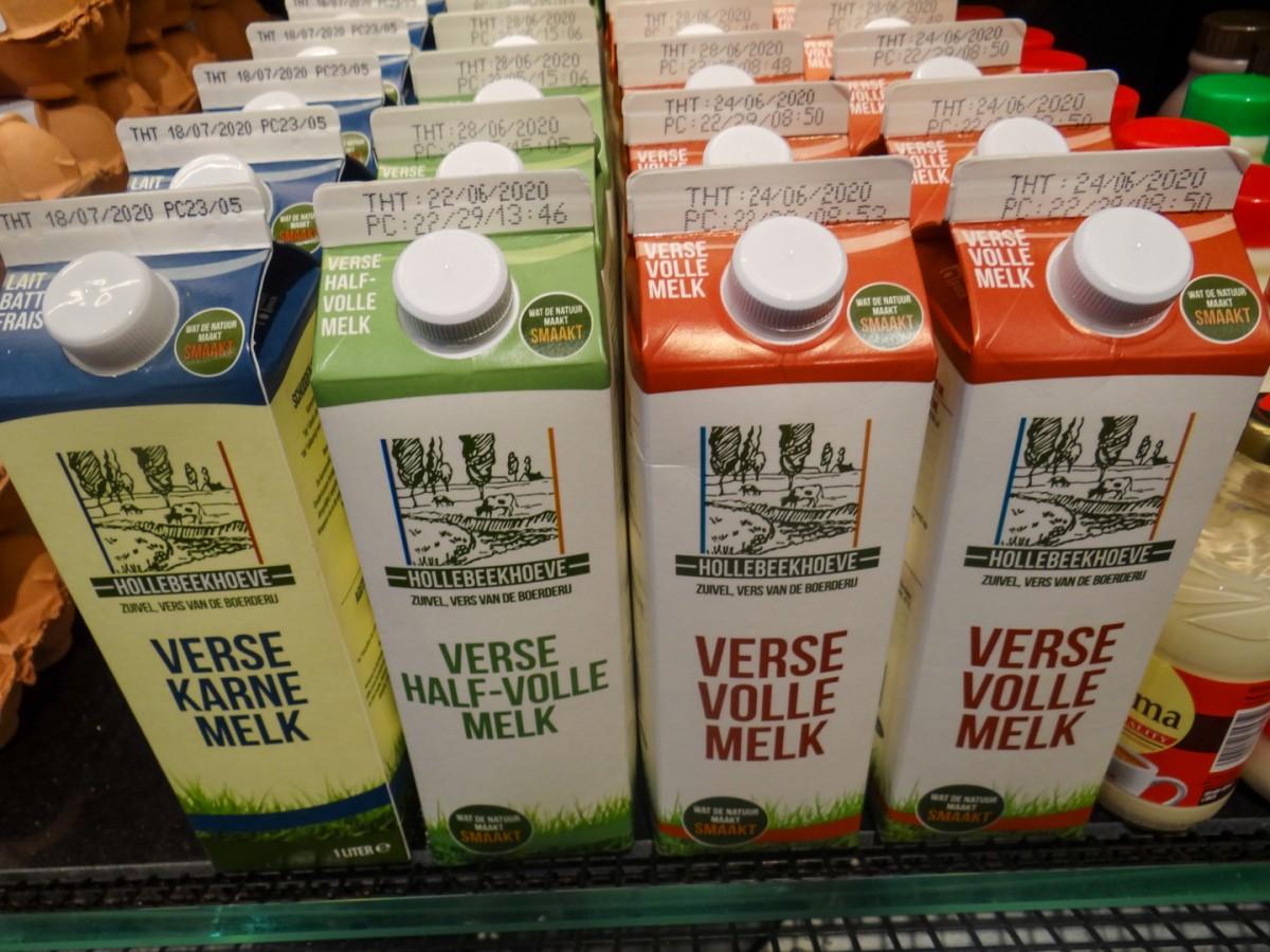 Vers melk Hollebeekhoeve