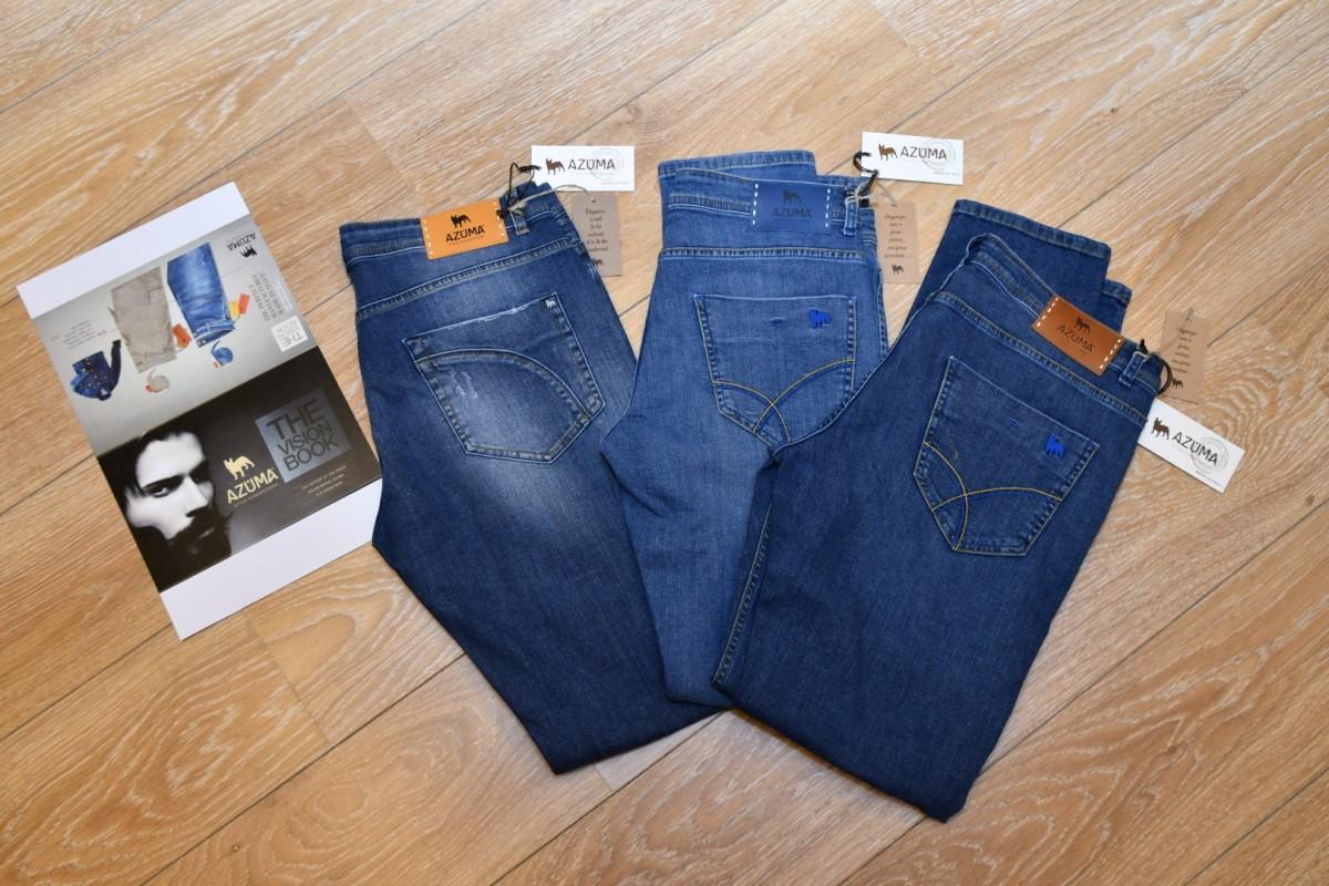 Jeansbroeken Azuma