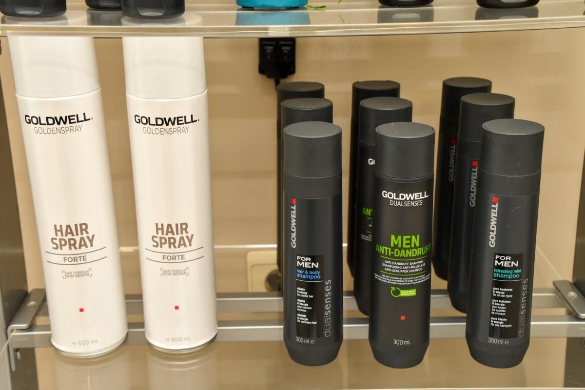 Haarspray & Shampoo voor heren
