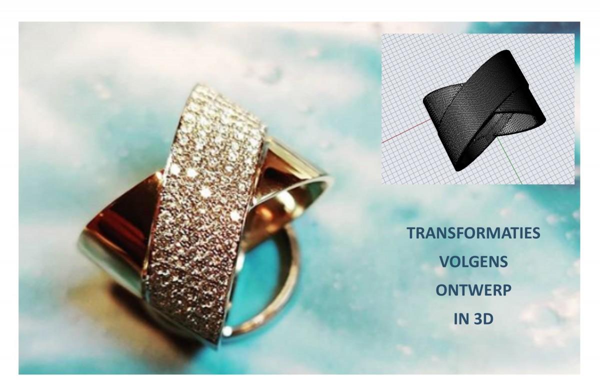 Ontwerpen van juwelen in 3D