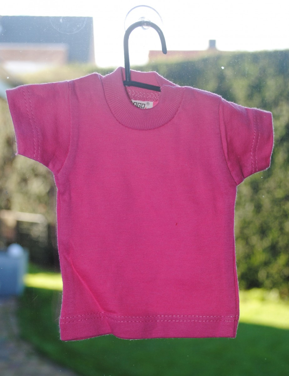 Mini T-shirt (fuchsia)