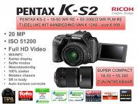 Pentax KS-2 kit DA18-50+55-300