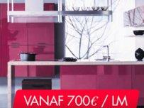 Maatkeuken €800/ LM