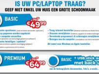 Opkuis trage pc/laptop