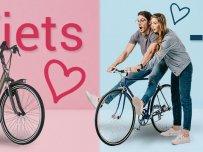Valentijnactie fietsen