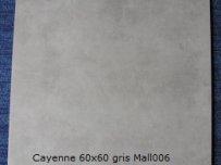 Cayenne 60x60 gris Mall