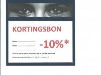 OPTIEK KORTINGSBON -10%