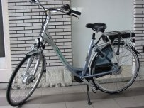 E-BIKe met nexus 8 vites