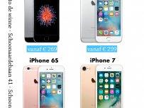 iPhone nog lager in prijs