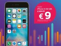 iPhone aan 9 euro
