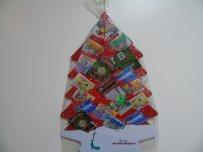 Kerstboom met krasloten