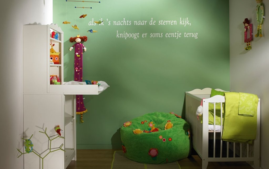 Idee n per kamer colora aalst aalst for Kleur kinderkamer