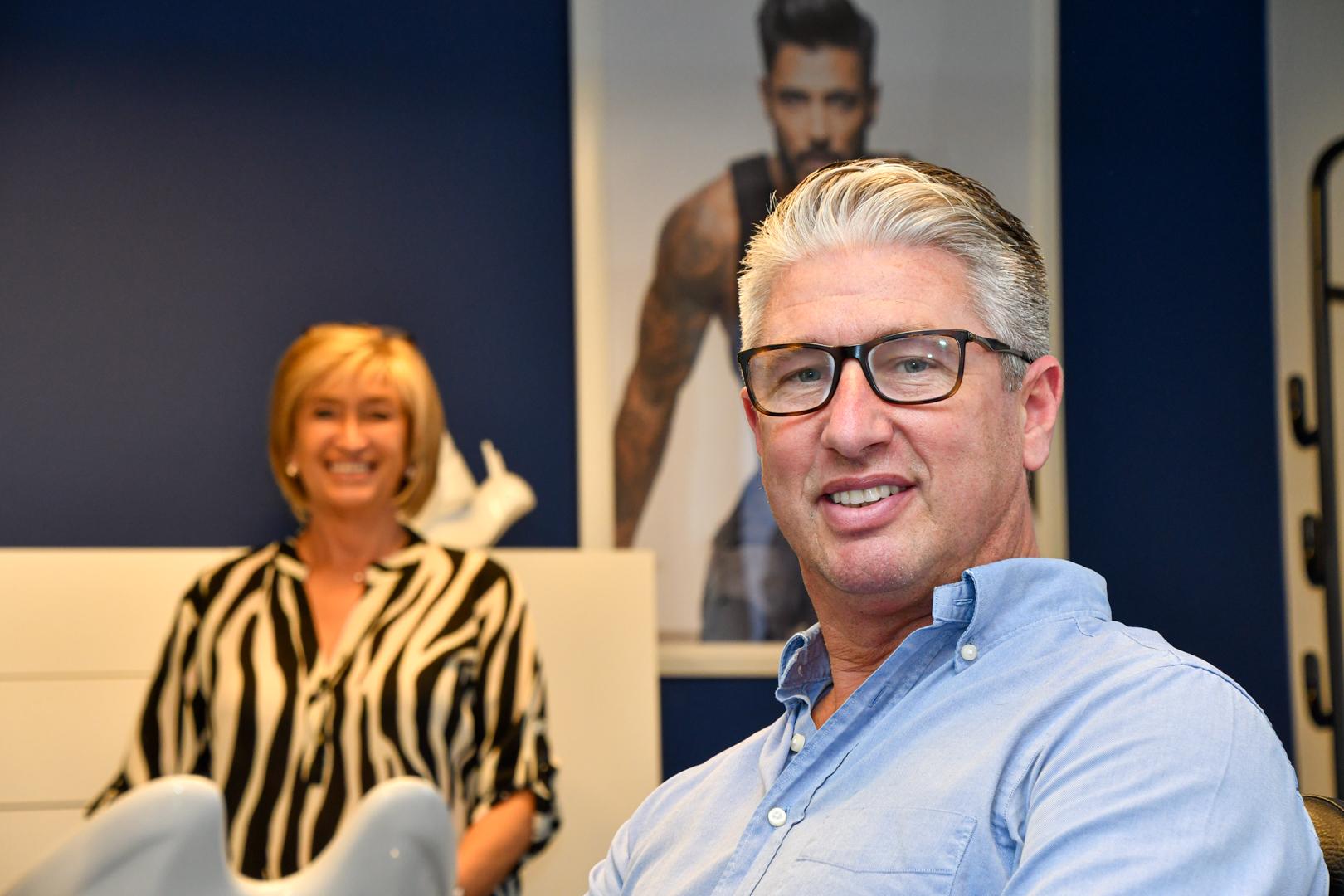 Tevreden klant bij Hairstudio Classic's