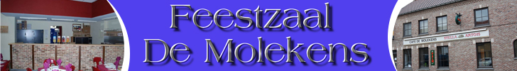 Banner Feestzaal De Molekens