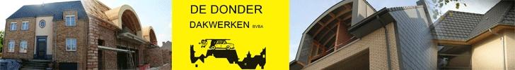 Banner De Donder Dakwerken bvba