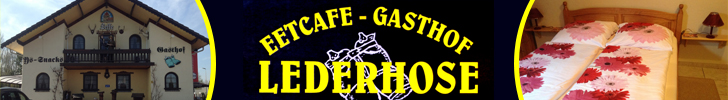 Banner Eetcafé Gasthof Lederhose