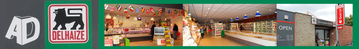 Banner AD Delhaize Beerse
