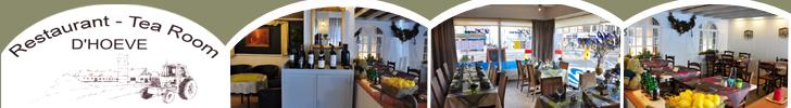 Banner D' Hoeve Restaurant Tea-Room