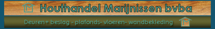 Banner Marijnissen Houthandel
