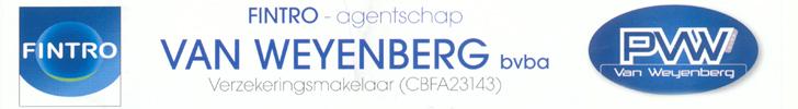 Banner Van Weyenberg bvba