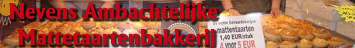 Banner Nevens Ambachtelijke Mattetaartenbakkerij