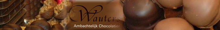 Banner Ambachtelijk Chocolatier Wauters