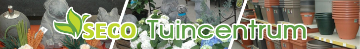 Banner Tuincentrum SECO
