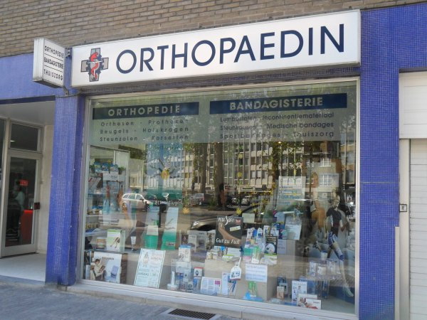 Orthopaedin bvba in Wilrijk met openingsuren - Bandagisterie