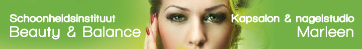 Banner Schoonheidsinstituut Beauty & Balance - Kapsalon & nagelstudio Marleen