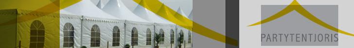 Banner Partytent Joris