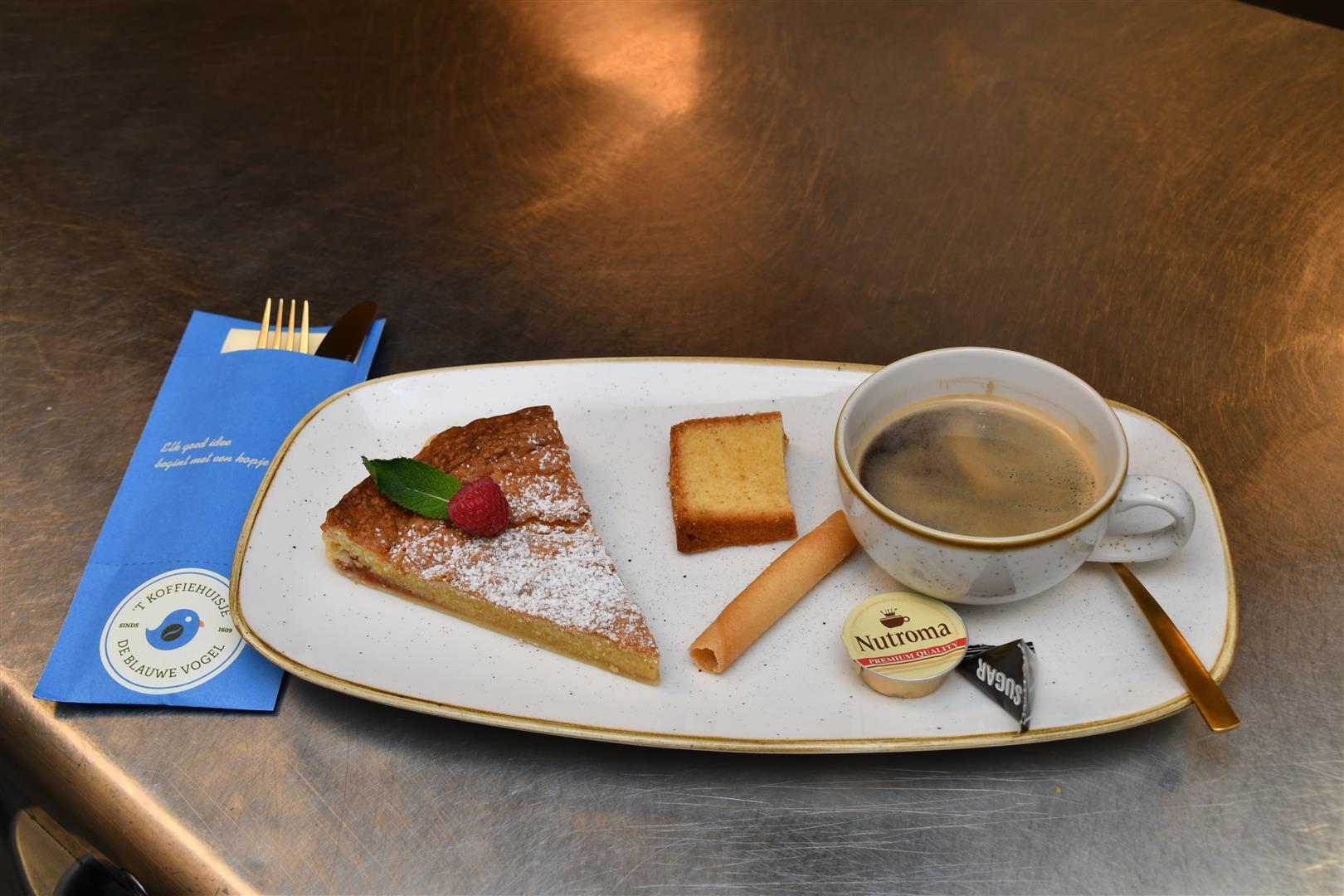 Koffiehuisje ('t) Blauwe Vogel in Nieuwpoort met openingsuren -  Ontbijtservice