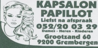 Kapsalon Papillot