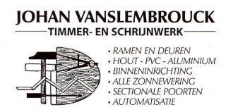 Vanslembrouck Johan