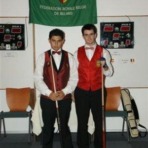 1'Antonio Montes(r) 2'DeBondt Andy(l)