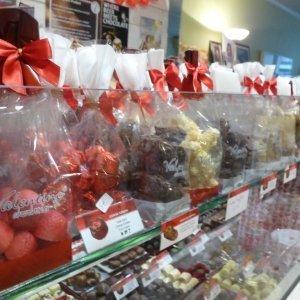 Koekjes , truffels en zeevruchten