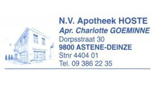 Apotheek Hoste nv