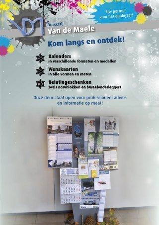 Kalenders en nieuwjaarskaarten voor 2019