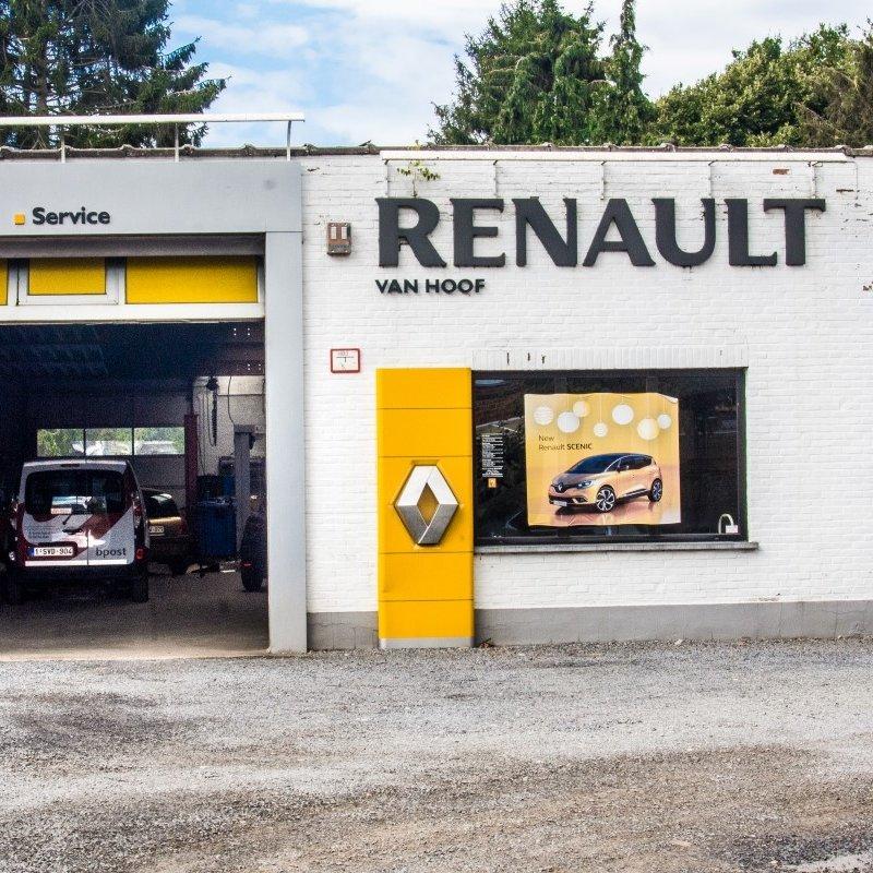 Renaut garage Mechelen  Leest