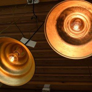 hanglampen in rustiek thema