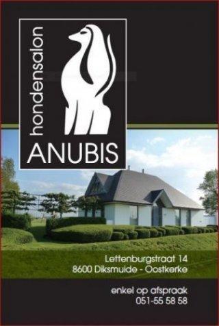 Logo, adres, ligging Hondensalon Anubis
