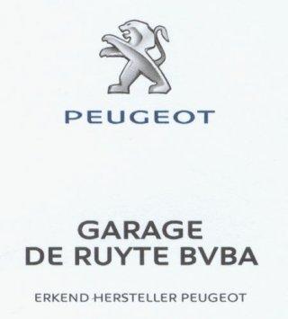 Garage De Ruyte bvba