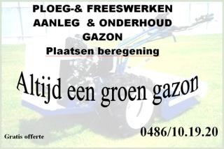 Ploeg- en Freeswerken Luc Janssen