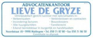 Advocatenkantoor Lieve De Gryze