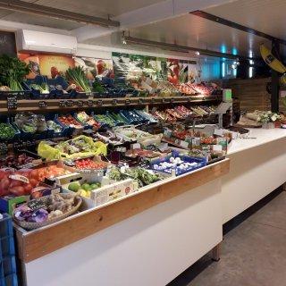 Groen en fruitwinkel