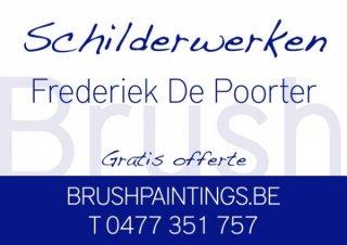 Schilderwerken Frederiek De Poorter